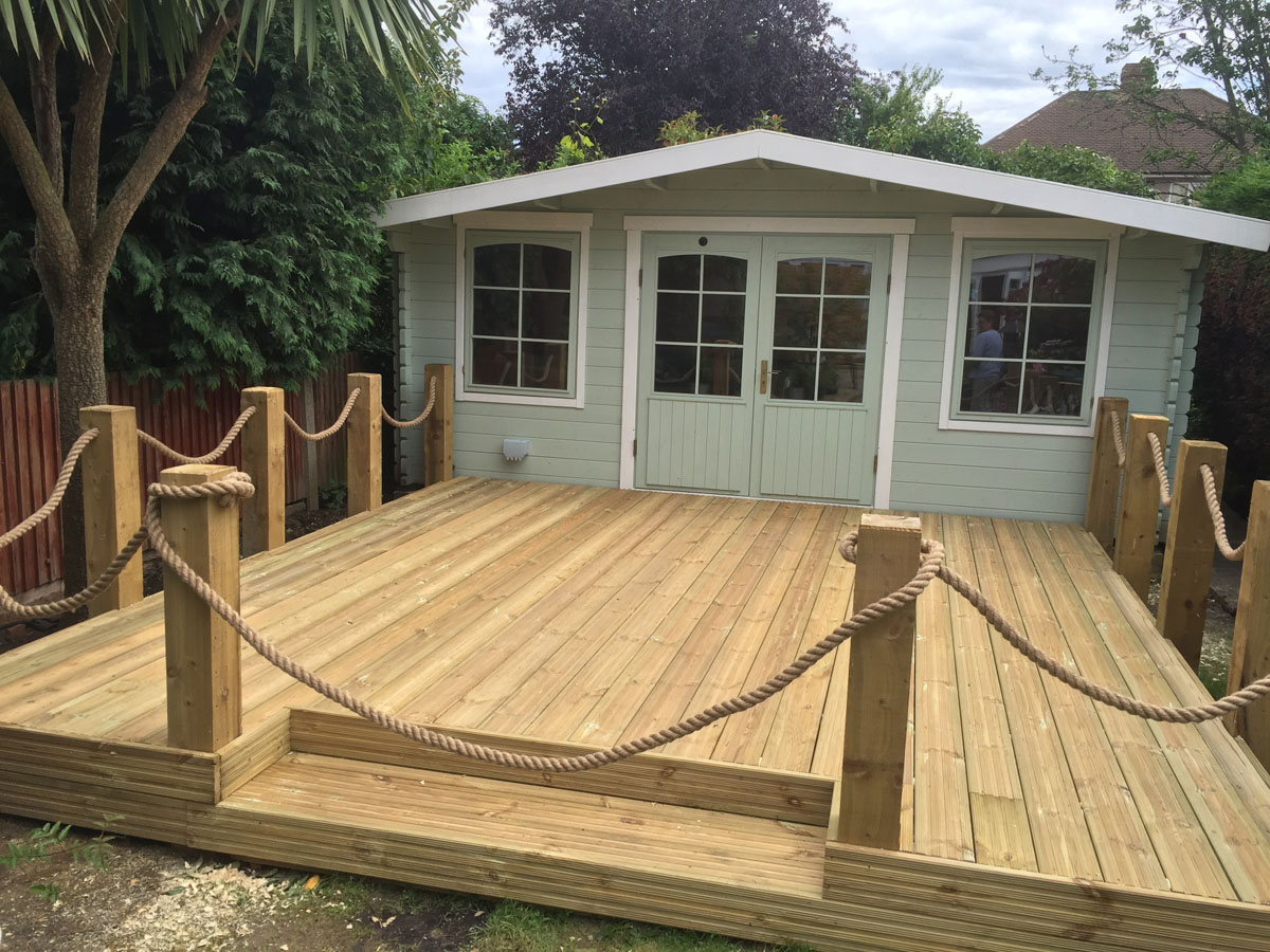 Bookham Outdoor Buildings Installation